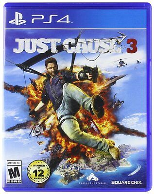 Just Cause 3 - Standard Edition (PlayStation 4, 2015) Brand NEW!!