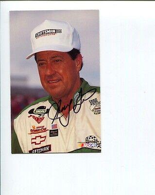 Harry Gant NASCAR Driver Legend Signed Autograph Photo Driver Legend Signed