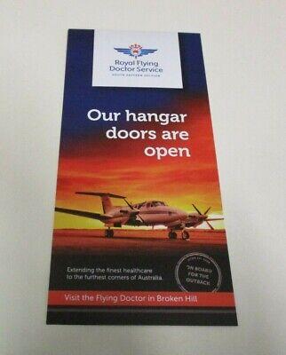 Royal Flying Doctor Service - Promotional Leaflet - Outback Museum, Broken Hill