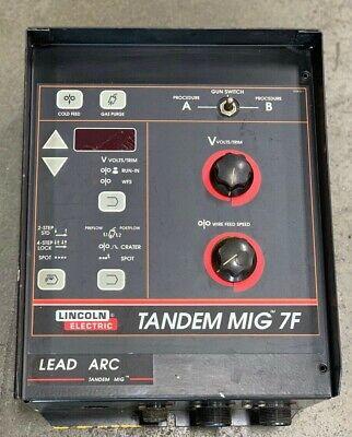 Lincoln Electric Tandem Mig 7f Control Box