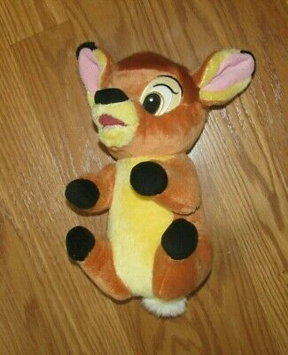 BAMBI BABY DEER DISNEY BABIES SOFT PLUSH STUFFED ANIMAL TOY 10""