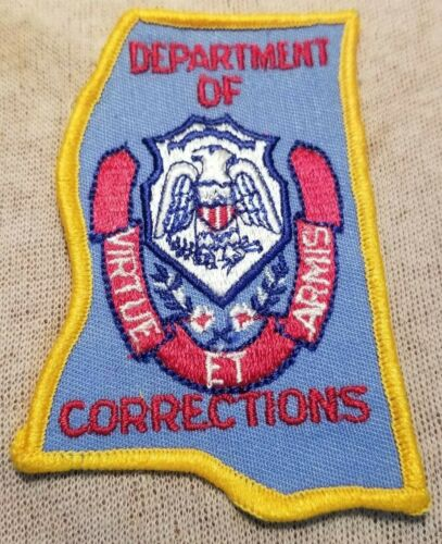 MS Mississippi Department of Correction Patch