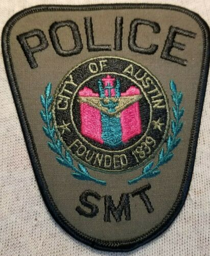 TX Austin Texas Special Mission Team Police Patch