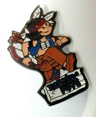 Pin's Vintage Collector Lapel Pin Native American Tartin' Smart / Lot H123