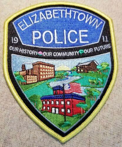 PA Elizabethtown Pennsylvania Police Patch