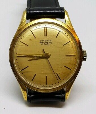 Beautiful Vintage German Junghans Trilastic Mechanical Watch from 1940s