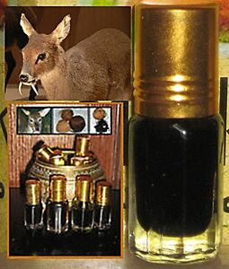 WILD DEER MUSK (BLACK) ATTAR PERFUME OIL - 3ML