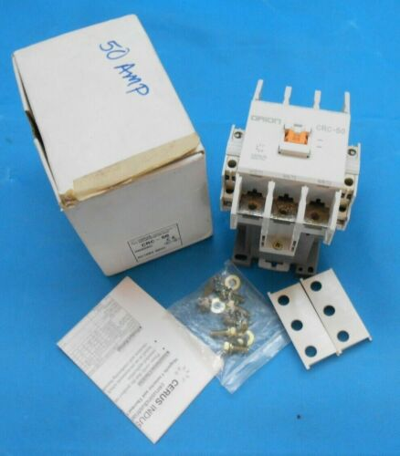 CERUS INDUSTRIAL CRC-50 ORION CONTACTOR 2NO2NC AC120V  NEW SURPLUS