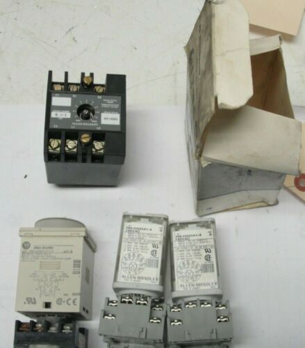 Allen-Bradley lot of 4 Timing Relays 700-PSPA1 - HRM12TA17 - HA33A1-4