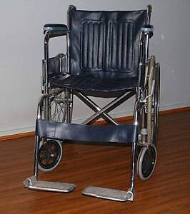 Wheelchair Foldable - Extra Wide 50cm Seat - As New Melbourne CBD Melbourne City Preview