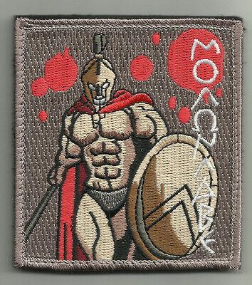 MOLON LABE SPARTAN COMBAT TACTICAL BADGE OIF OEF HOOK LOOP MORALE MILITARY - Spartan Combat