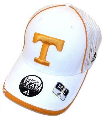 Adidas Tennessee Volunteers Structured Cap Flex Mesh Back Hat - Tennessee Volunteers Hats