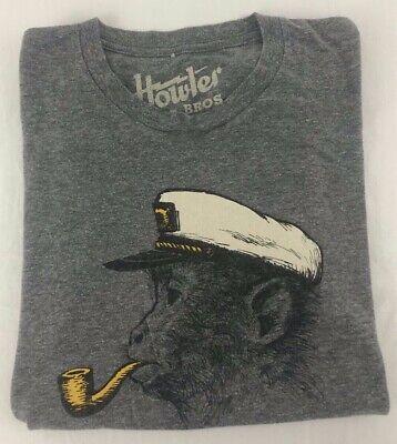 Howler Bros Sz. Small Gray Short Sleeve T-Shirt!