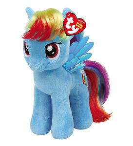 Rainbow Dash Beanie Plush Soft Toy, My Little Pony 8