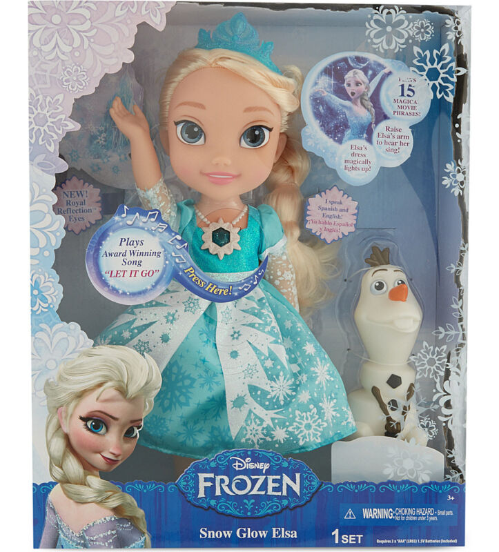 Real Snow Glow Elsa - the one you should buy (but not for more than it's RRP of £40!)
