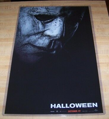 Halloween 11 Days (Halloween 2018 Michael Myers 11X17 Teaser Movie Poster 40 years)