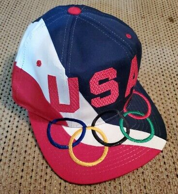 Vintage Starter USA 1996 Olympics Mens Snapback Hat