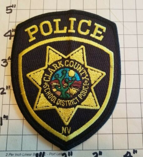 Clark County (Las Vegas, NV) School District Police Department Patch