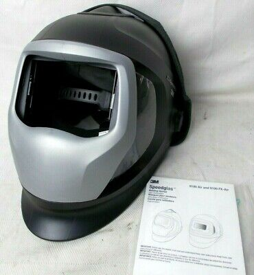 Welding Helmet W Air W Side Windows And Extended Head Cover 3m Speedglass No Adf