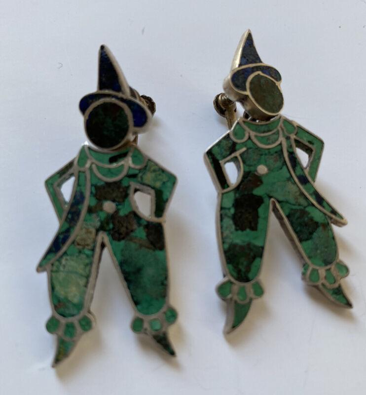Absolutely  Fabulous  Taxco Sterling Earrings