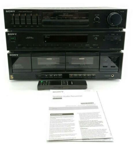 Sony HST-211 Stereo Component System