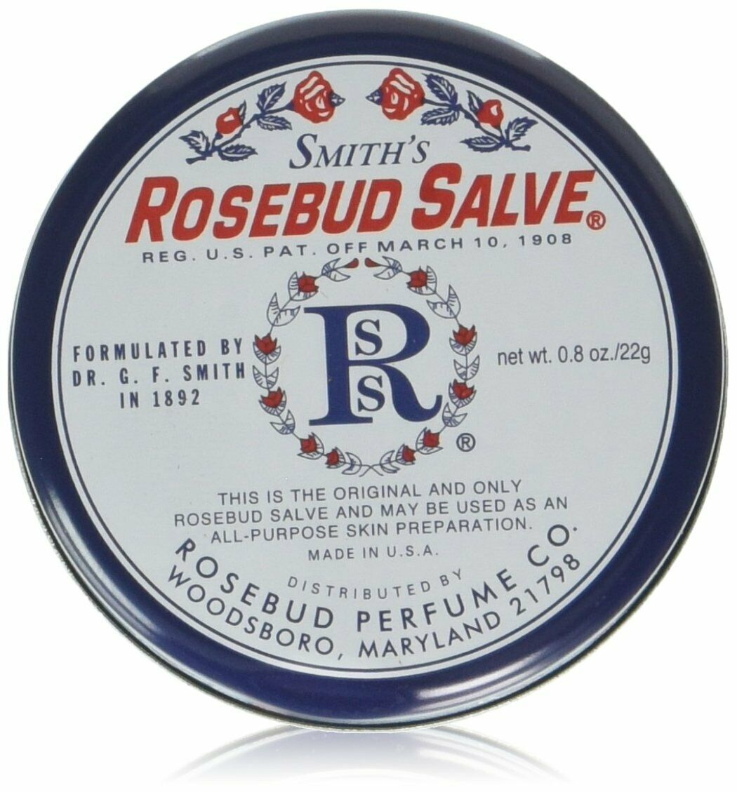 Smith's Rosebud Salve Tin - 3 Pack