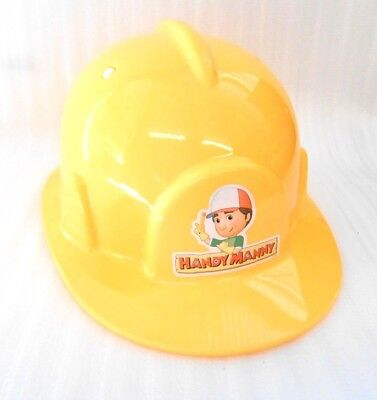 Handy Manny Hard Hat Construction Halloween Costume Childs Dress Up Disney Live](Disney Halloween Dress Up Games)