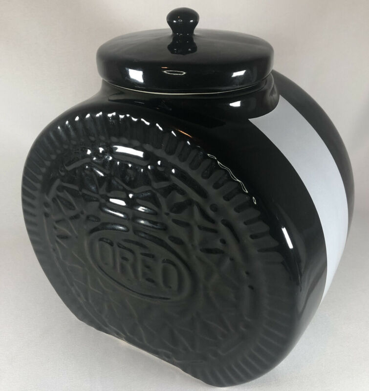 RARE VINTAGE - Oreo Cookie Jar - GREAT CONDITION - With Lid - Nabisco