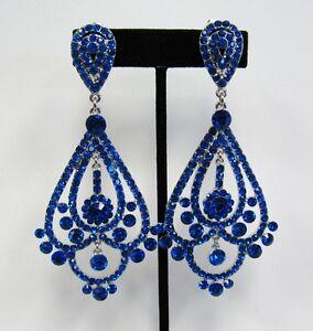 Bridal Clip Earrings