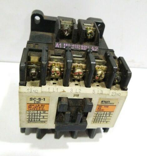 FUJI ELECTRIC Co., Ltd. MAGNETIC CONTACTOR  SC-5-1 Cat.No. 4NCOHO