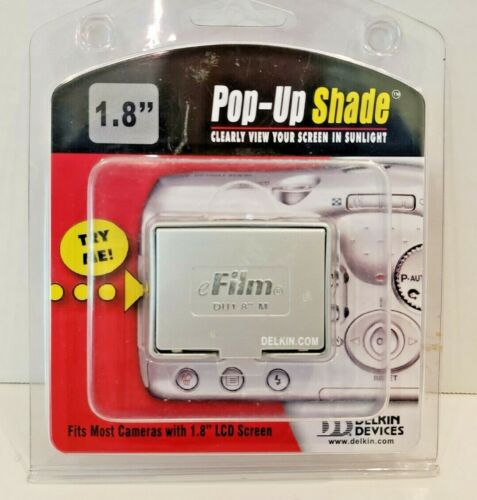 "New Delkin Pop Up Shade 1.8 inch Delkin pop-up shade 1.8"" LCD screens DU1.8-M R"