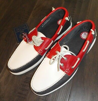 Polo Telford Ralph Lauren Olympic licensed mens boat shoes size 11 Made in USA