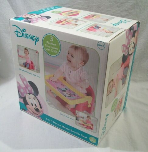 Disney 3 in 1 Minnie Mouse Booster Seat for 6M+