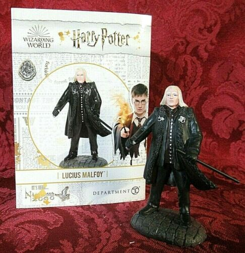 Department 56 Harry Potter Village Accessory LUCIUS MALFOY
