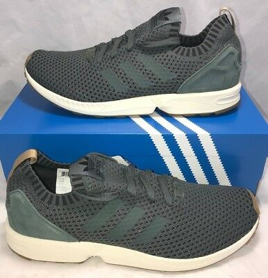 e7ed63374873b Adidas Mens Size 12.5 ZX Flux PK Running Athletic Shoes Green New  130