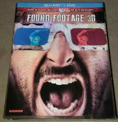 Found Footage 3D   Blu-ray + Dvd)  Slipcover*HALLOWEEN HORROR BRAND NEW](Halloween 3d Dvd)