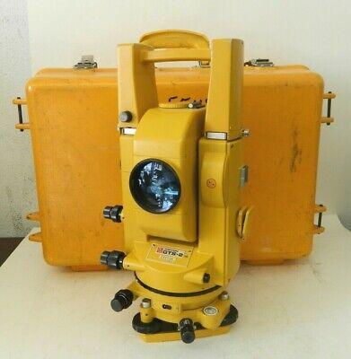 Topcon Gts-2 Theodolite Total Station Surveying Equipment W Case