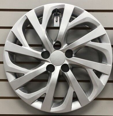 NEW 2017 2018 TOYOTA COROLLA 16 SILVER Hubcap Wheelcover