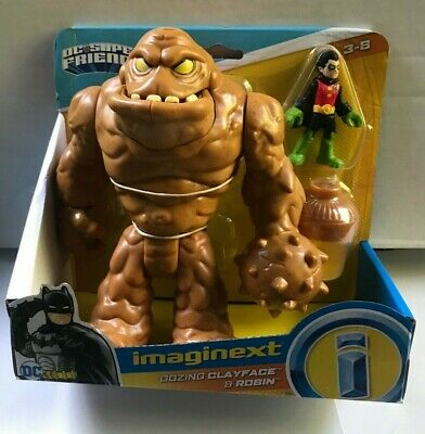 IMAGINEXT DC SUPER FRIENDS OOZING CLAYFACE & ROBIN PLAYSET