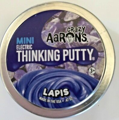 "Lapis Electric Crazy Aaron's Thinking Putty 2"" can .47 oz"