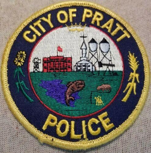KS City of Pratt Kansas Police Patch