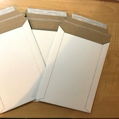 10 - 6x8 Self Seal Easy Open Cardboard Cddvd Envelope Mailers 6 X 8