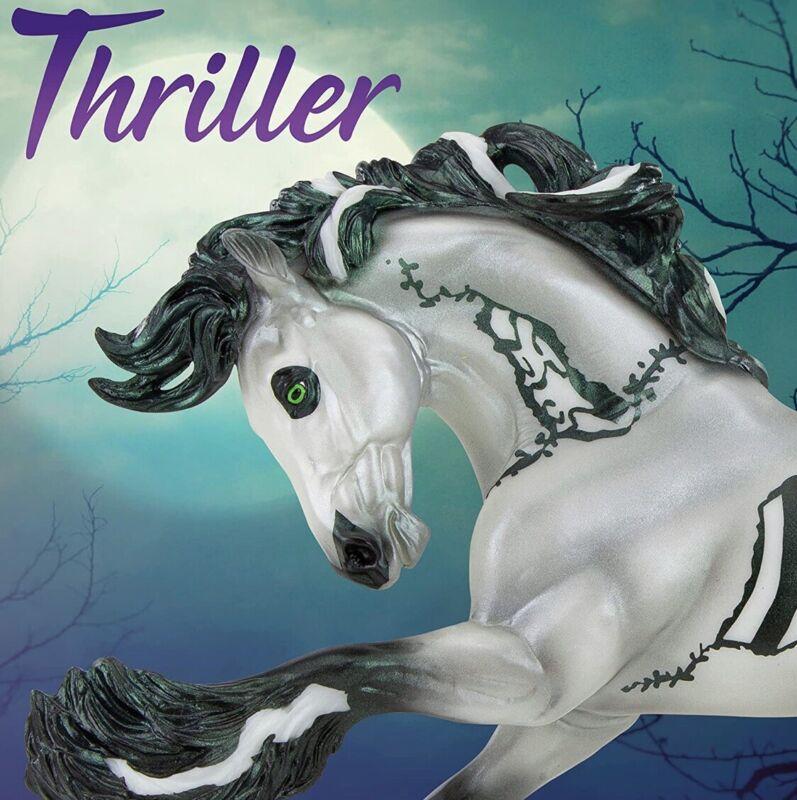 PRE-ORDER 2021 Breyer Traditional Halloween Horse Thriller
