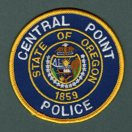 Central Point Oregon Police Patch