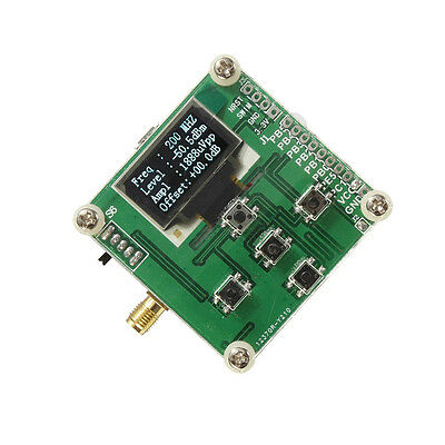 1-500mhz Oled Rf Power Meter -7015dbm 1nw2w Power Set Rf Attenuation Value New
