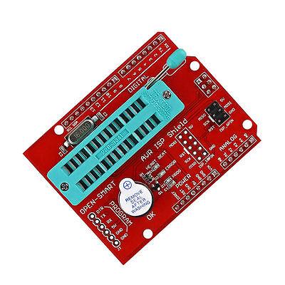 Avr Isp Shield Burning Burn Bootloader Programmer For Arduino Uno R3 Ca