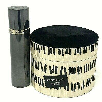 Vintage Faberge F# Set of two With Original Box! F# Cologne Spray, Bath Powder!  for sale  Petaluma