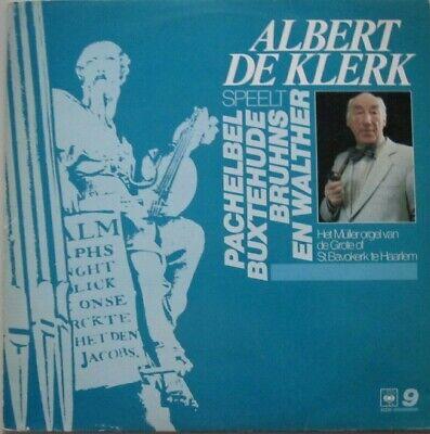 ALBERT DE KLERK - ZUID-DUITSE ORGELWERKEN  -  LP    for sale  Shipping to South Africa