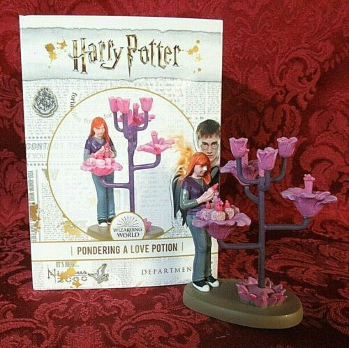 Department 56 Harry Potter Village Accessory Pondering A Love Potion