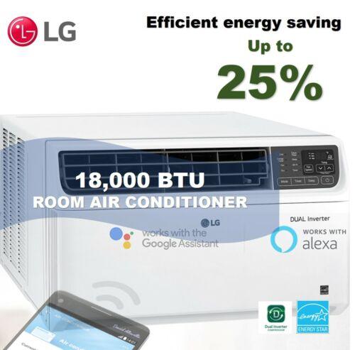 LG LW1817IVSM - 18,000 BTU DUAL Inverter Smart Wi-Fi Enabled Window A/C